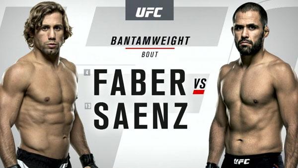 Urijah Faber (136) vs. Frankie Saenz (135)