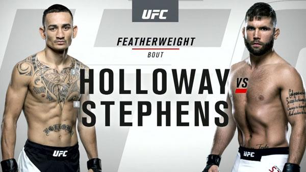 Max Holloway (146) vs. Jeremy Stephens (145)