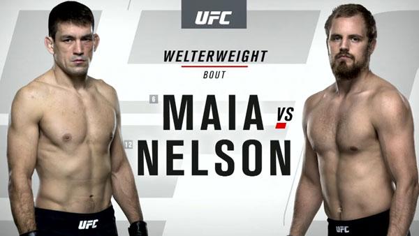 Demian Maia (170) vs. Gunnar Nelson (170)