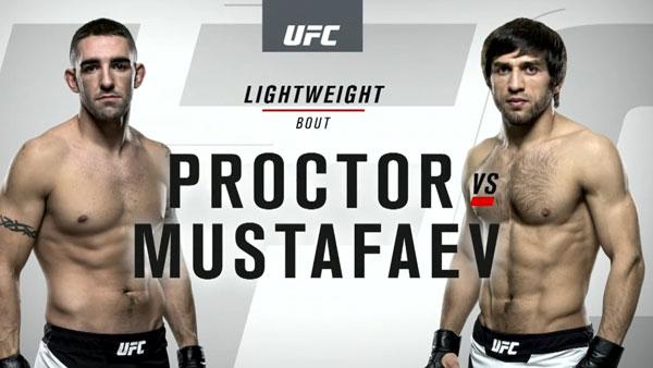 Magomed Mustafaev (155) vs. Joe Proctor (155.5)