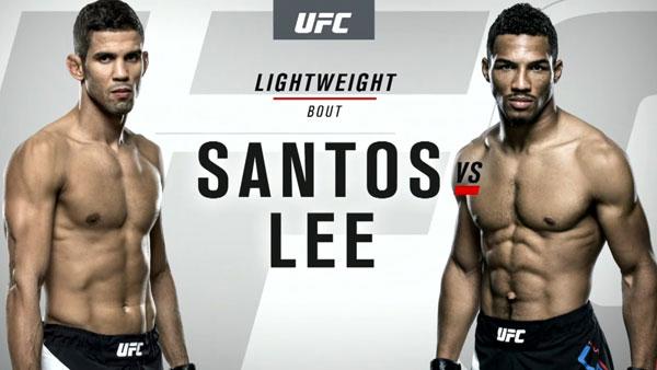 Kevin Lee (156) vs. Leonardo Santos (156)