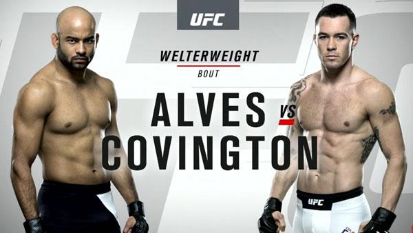 Warlley Alves (171) vs. Colby Covington (170)