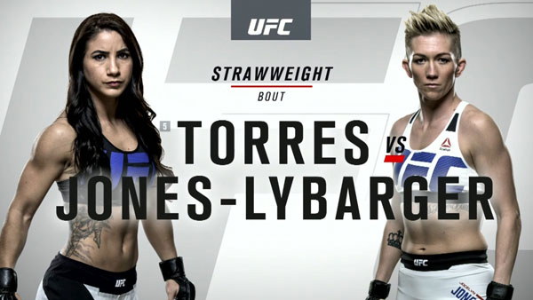 Tecia Torres (116) vs. Jocelyn Jones-Lybarger (116)