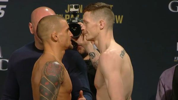 Joseph Duffy contre Dustin Poirier