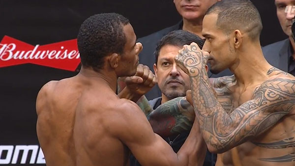 Francisco Trinaldo contre Yancy Medeiros