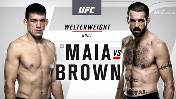Demian Maia contre Matt Brown