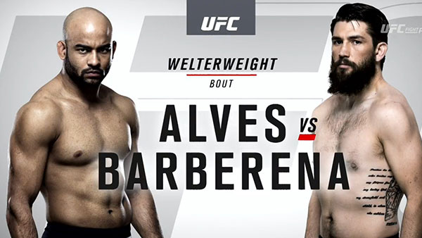 Warlley Alves contre Bryan Barberena