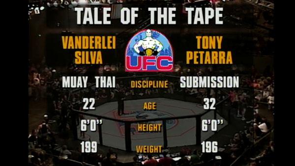 Wanderlei Silva contre Tony Petarra