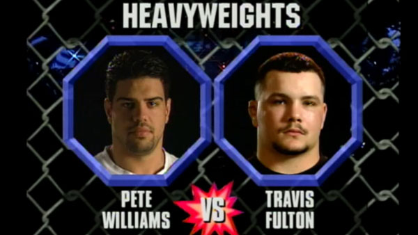 Pete Williams contre Travis Fulton
