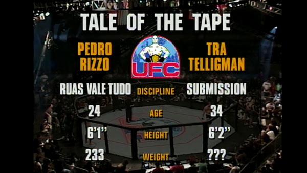 Pedro Rizzo contre Tra Telligman