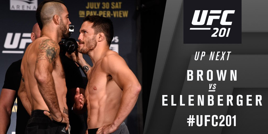 Matt Brown contre Jake Ellenberger