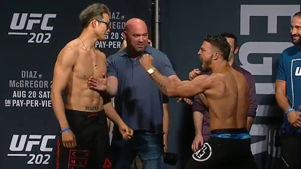 Hyun Gyu Lim contre Mike Perry
