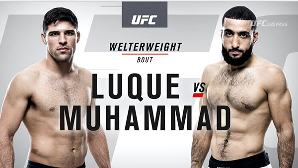 Vicente Luque contre Belal Muhammad