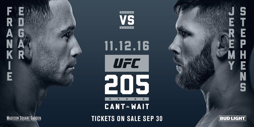 UFC 205 New York City