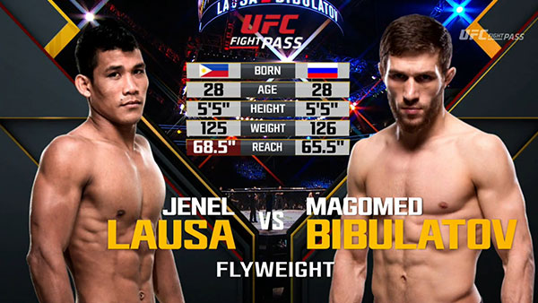 Jenel Lausa contre Magomed Bibulatov