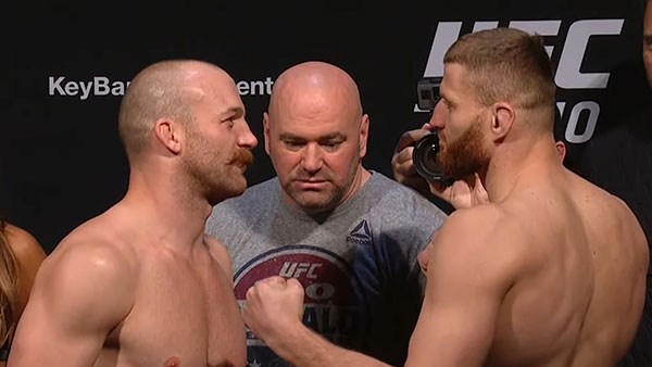 Patrick Cummins contre Jan Blachowicz