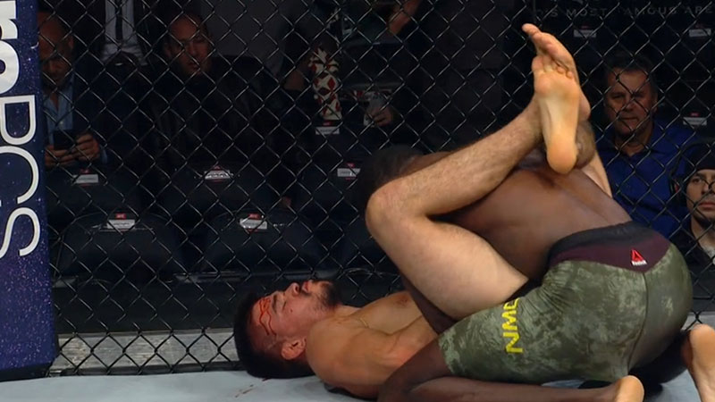 Randy Brown contre Mickey Gall