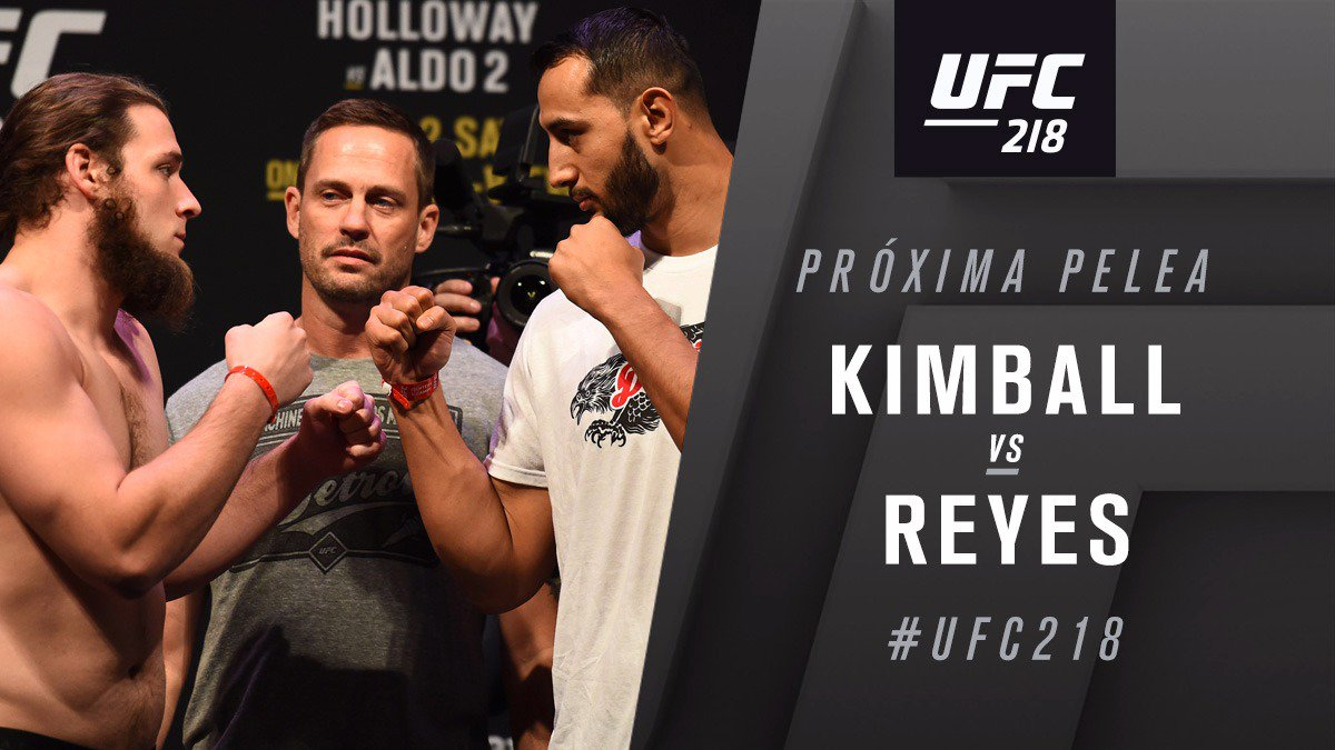 Dominick Reyes contre Jeremy Kimball
