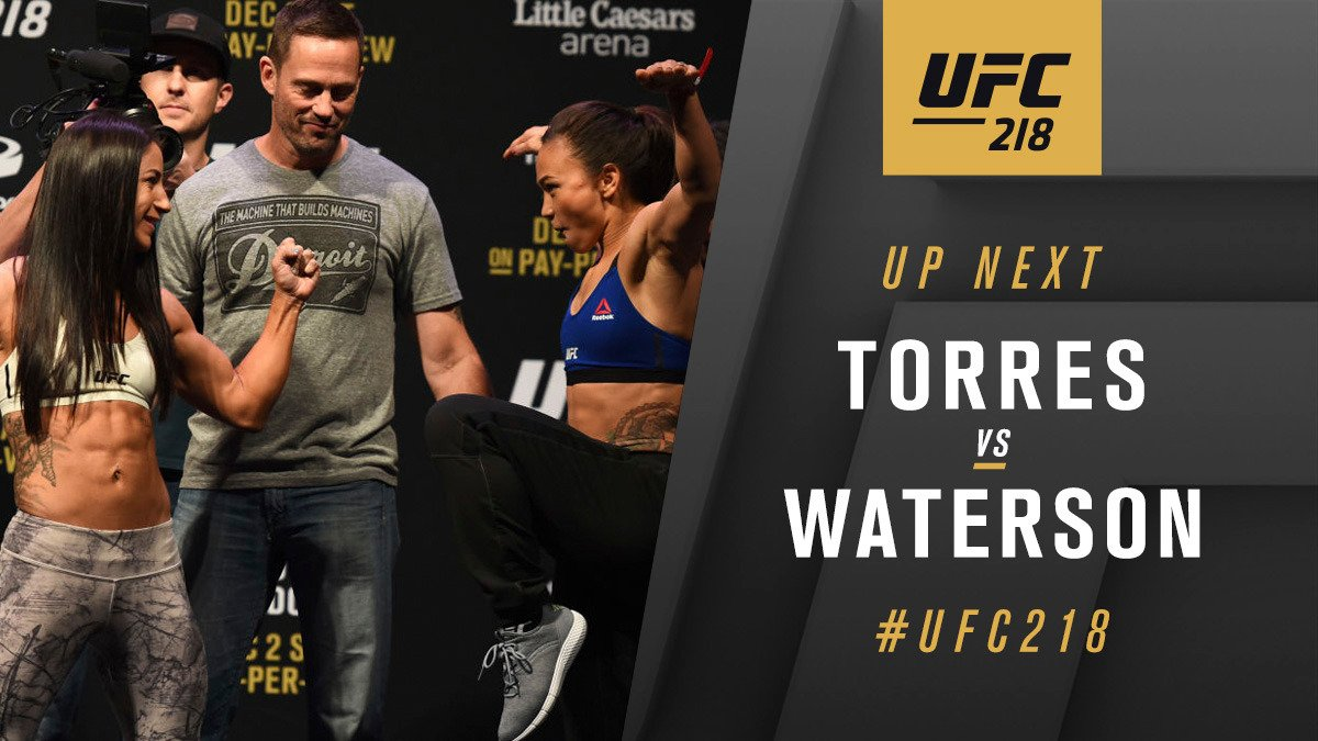 Michelle Waterson contre Tecia Torres