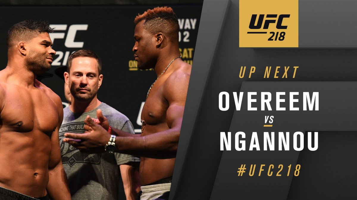 Alistair Overeem contre Francis Ngannou
