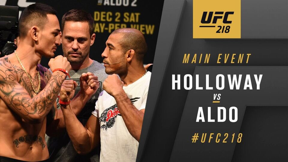Max Holloway contre Jose Aldo