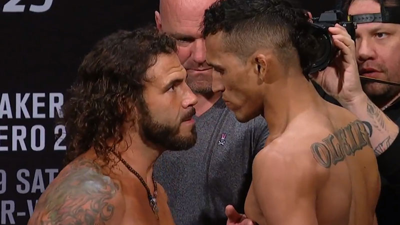 Charles Oliveira contre Clay Guida
