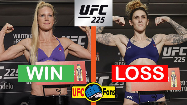 Holly Holm contre Megan Anderson