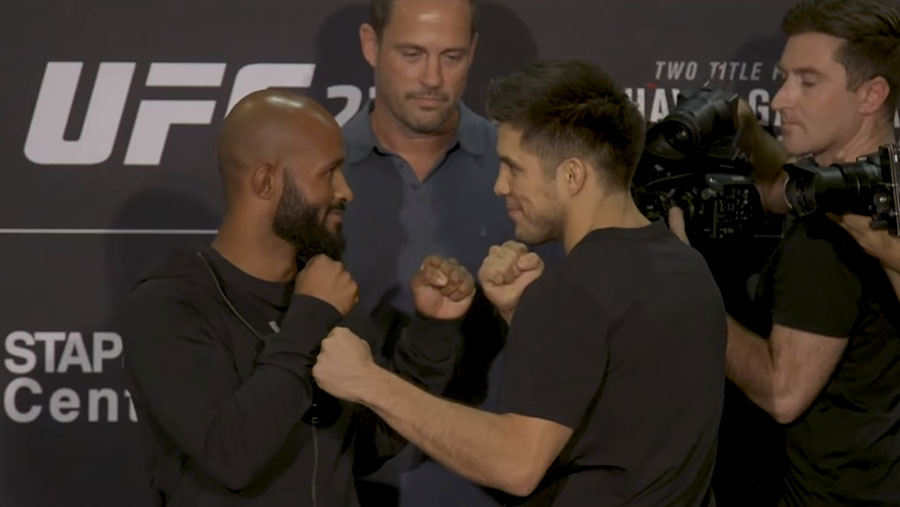 Demetrious Johnson contre Henry Cejudo