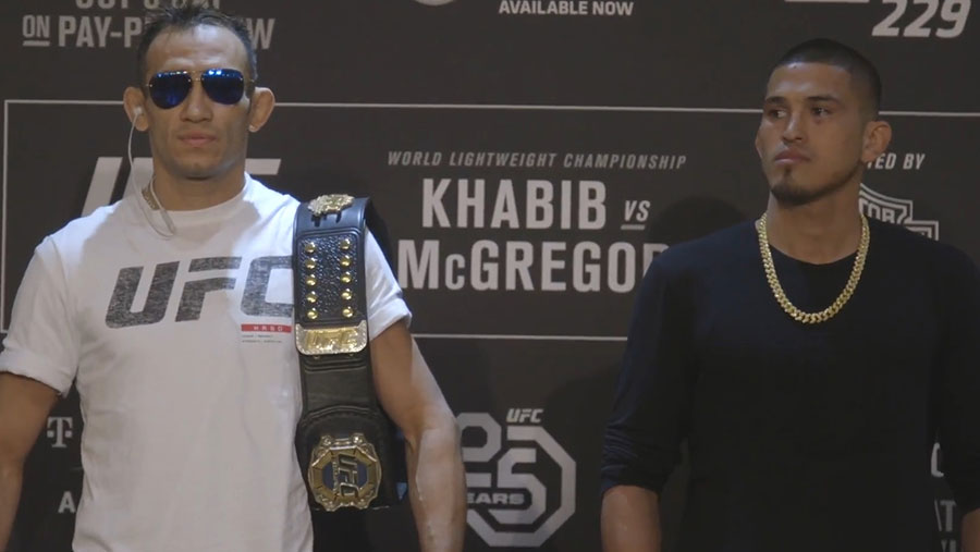 Tony Ferguson contre Anthony Pettis