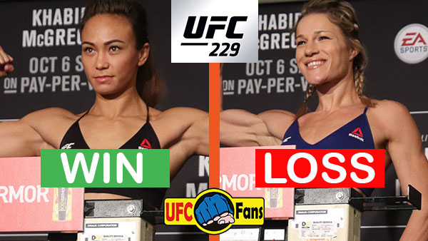 Michelle Waterson contre Felice Herrig