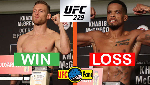 Scott Holtzman contre Alan Patrick Silva Alves