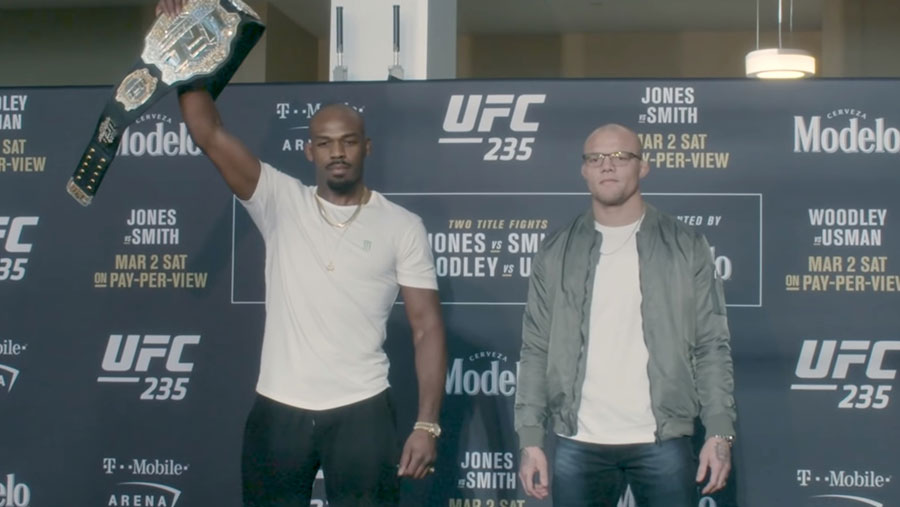 Jon Jones contre Anthony Smith