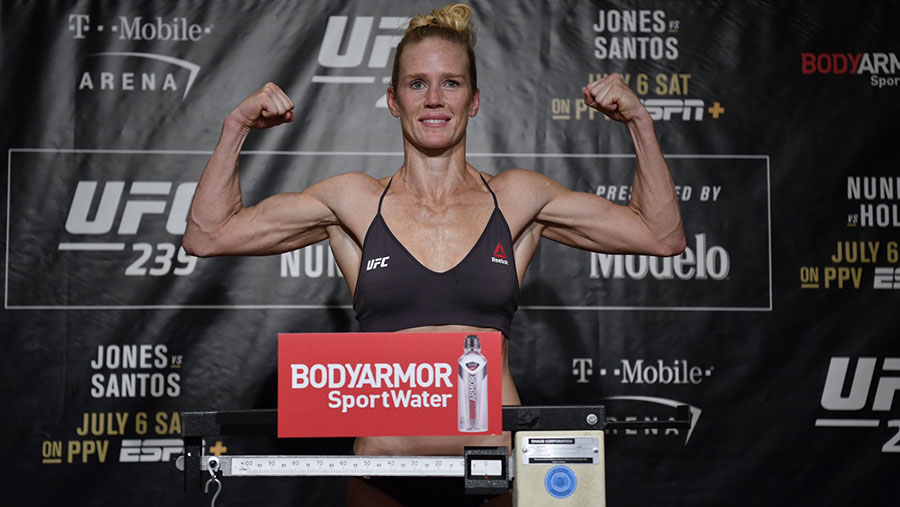Amanda Nunes contre Holly Holm