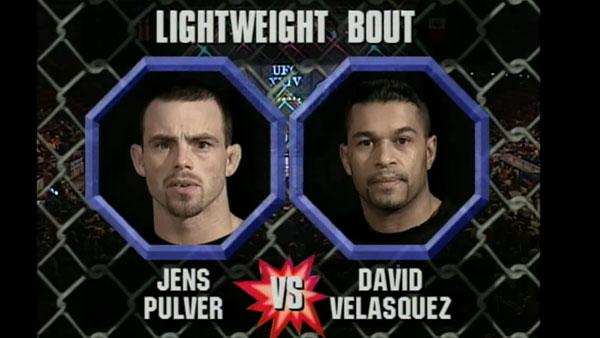 Jens Pulver contre David Velasquez