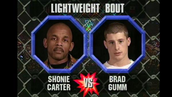 Shonie Carter contre Brad Gumm