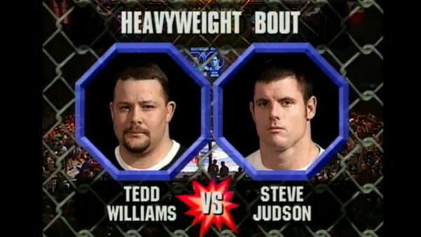 Tedd Williams contre Steve Judson
