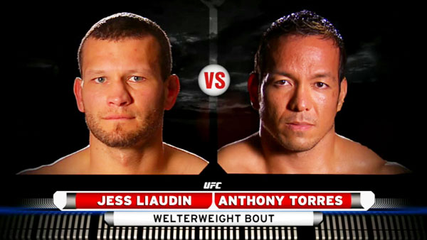 Jess Liaudin contre Anthony Torres
