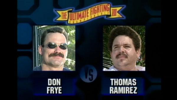 Victoire de Don Frye contre Thomas Ramirez