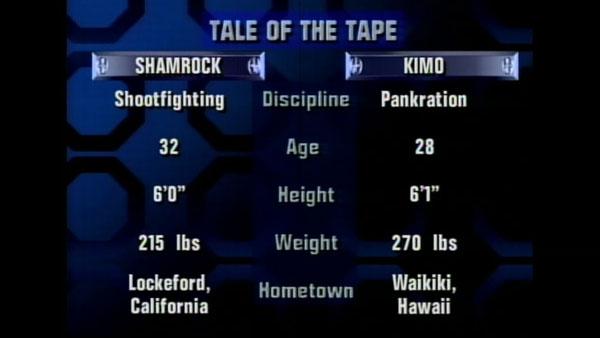 Victoire de Ken Shamrock contre Kimo Leopoldo