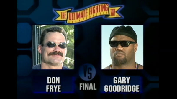Victoire de Don Frye contre Gary Goodridge