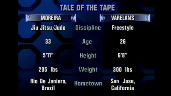 Victoire de Paul Varelans contre Joe Moreira