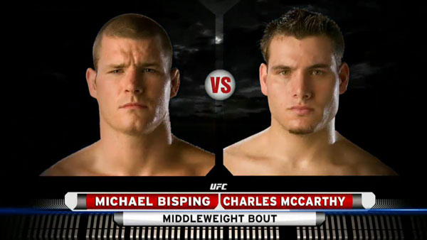 Michael Bisping contre Charles McCarthy