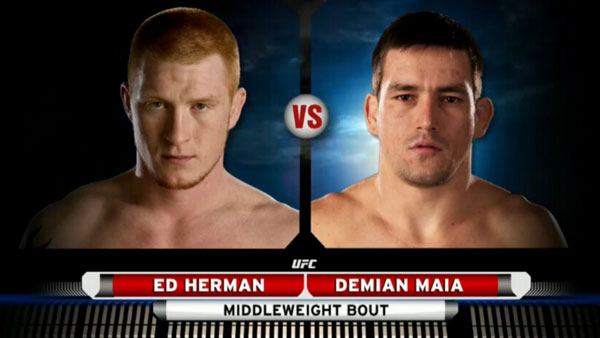 Demian Maia contre Ed Herman